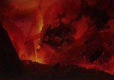 赤コモンのソーサリー「 Magmatic Chasm」(イニストラードを覆う影)