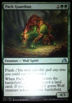 Pack Guardian(イニストラードを覆う影)