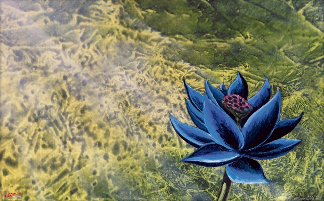 Black Lotus(MTG 壁紙)
