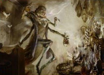 青アンコの人間昆虫「逸脱した研究者(イニストラードを覆う影)」