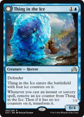 Thing in the Ice(イニストラードを覆う影)