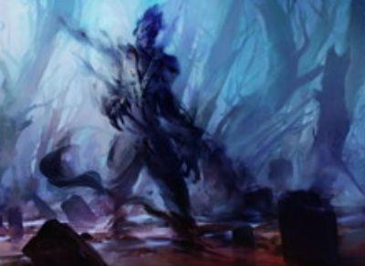 黒コモンのスピリット「遠沼の亡霊(イニストラードを覆う影)」