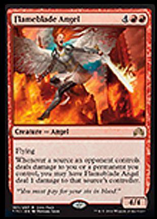 Flameblade Angel(イニストラードを覆う影)