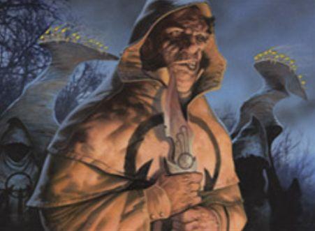黒アンコのクレリック「Wayward Disciple(イニストラードを覆う影)」