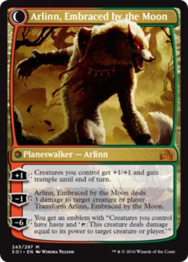 Arlinn, Embraced by the Moon(イニストラードを覆う影)