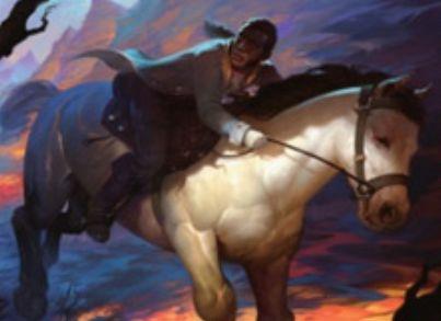 赤アンコの狼男「Breakneck Rider(イニストラードを覆う影)」