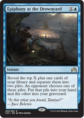 Epiphany at the Drownyard(イニストラードを覆う影)