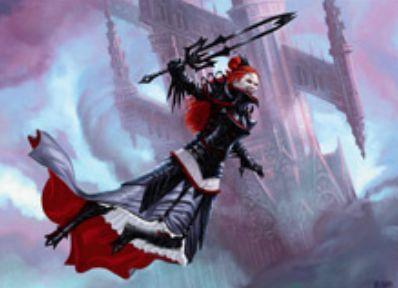 赤黒神話吸血鬼の新オリヴィア「Olivia, Mobilized for War」(イニストラードを覆う影)
