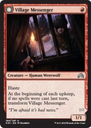 Village Messenger(イニストラードを覆う影)