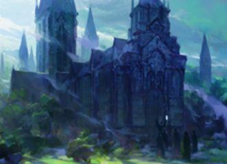 SOI収録の変身するレア土地「ウェストヴェイルの修道院」(イニストラードを覆う影)