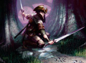 緑レアのスカウト「不屈の追跡者(イニストラードを覆う影)」