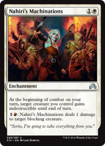 Nahiri's Machinations(イニストラードを覆う影)