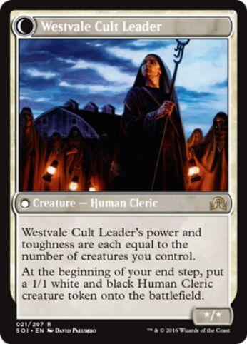Westvale Cult Leader(イニストラードを覆う影)