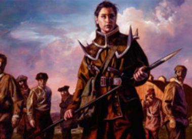 SOI収録の白レア兵士「Hanweir Militia Captain」が公開!自軍クリーチャーが4体以上で変身し「Westvale Cult Leader」(イニストラードを覆う影)