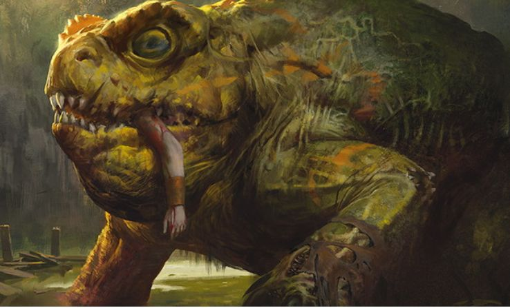 SOI収録の伝説神話カエル「ギトラグの怪物」(イニストラードを覆う影)