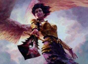 白コモンのソーサリー「天使の粛清(イニストラードを覆う影)」