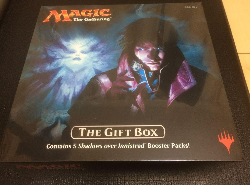 イニストラードを覆う影「The Gift BOX(ギフトボックス)」を開封&収録内容を紹介!