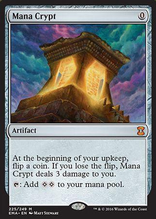 Mana Crypt(エターナルマスターズ)