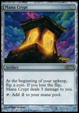 Mana Crypt(ジャッジギフト版)