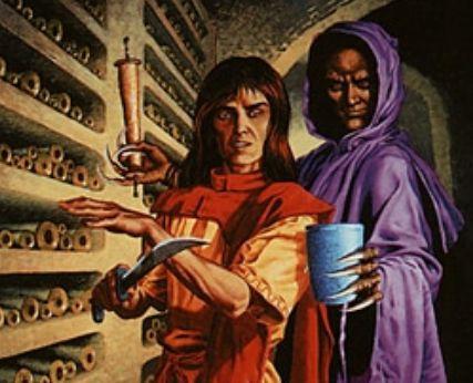 エターナルマスターズにて「吸血の教示者」が神話レアで再録!イラストも新規描き下ろしに!