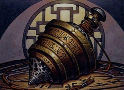 神河物語「師範の占い独楽」がエターナルマスターズにてレア&新規イラストになって再録!