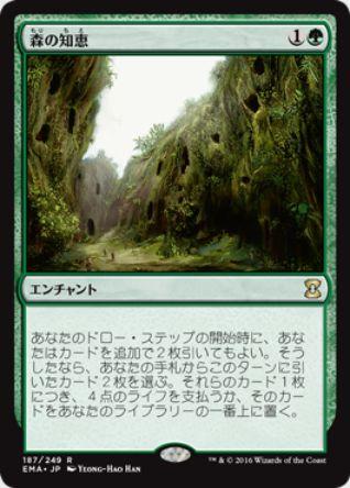 森の知恵(エターナルマスターズ)