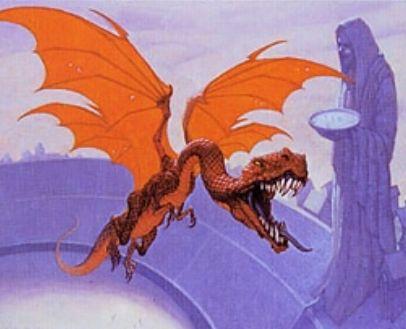 オンスロート「刃の翼ロリックス」がエターナルマスターズのレアで収録!イラストは新規アートを採用!