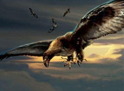 マジック2011「戦隊の鷹」が新規イラストになってエターナルマスターズのコモン枠で収録決定!