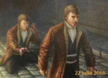 異界月に収録の青レア多相の戦士「Supplanter of Identity」が非公式スポイラーにて公開!アタック時にクリーチャーを追放し、それのコピーになれる!