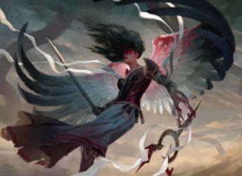 異界月にレア収録の伝説天使「消えゆく光、ブルーナ」が公開!唱えた際に墓地の人間か天使をリアニメイト!