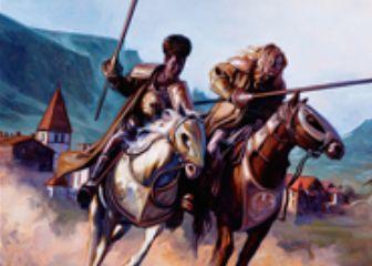 異界月収録の白レア騎士「Thalia's Lancers」が公開!CIPで伝説カードをサーチ!サリアの槍騎兵