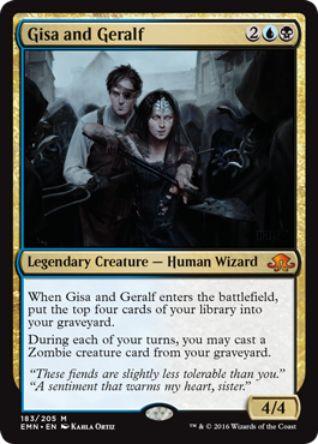 Gisa and Geralf(神話レア 異界月)