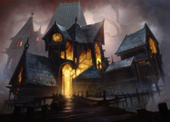 異界月収録の伝説レア土地「Geier Reach Sanitarium」が公開!2マナとタップで全プレイヤーがドロー&ディスカード!