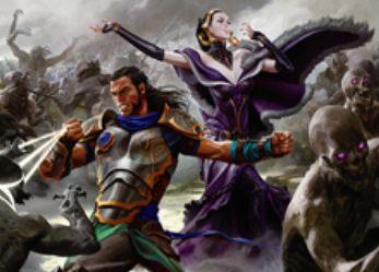 異界月収録の白神話ソーサリー「Deploy the Gatewatch」が公開!ライブラリートップ7枚を見てプレインズウォーカー2枚までを戦場へ!