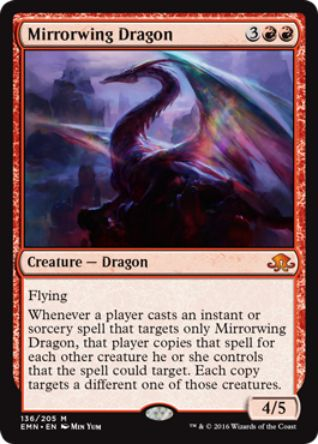 Mirrorwing Dragon(神話レア 異界月)