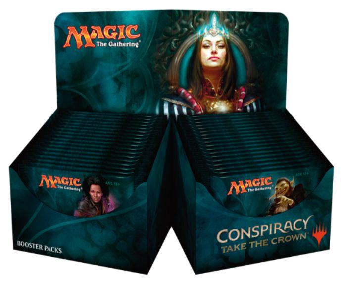 コンスピラシー第2弾「王位争奪」のBOX&パックのパッケージ画像が判明!ダレッティに似たゴブリンの姿も!