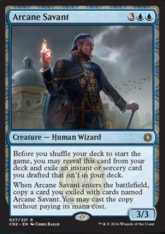 Arcane Savant(王位争奪)