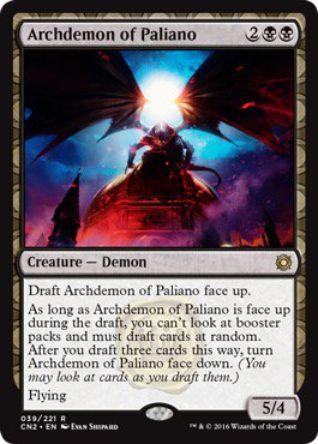 Archdemon of Paliano(王位争奪)