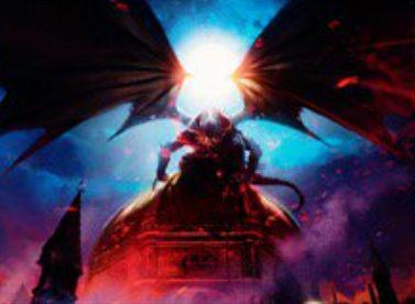 MTG「王位争奪」収録の黒レアデーモン「Archdemon of Paliano」が公開!表向きでドラフトし、このカードが表向きの間はピックがランダムに!