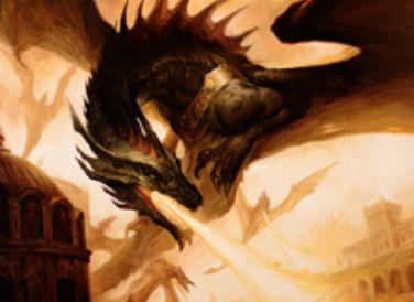 赤レアのドラゴン「Skyline Despot(王位争奪)」が公開!CIPで「統治者」獲得&自アップキープに「統治者」ならば、PTが5で「飛行」持ちのドラゴントークンを生産!