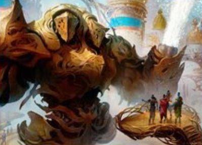青神話の構築物「奔流の機械巨人」が公開!CIPで墓地のインスタントをマナコスト不要でキャスト可能に!