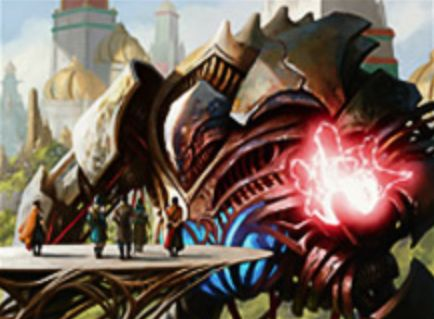 カラデシュ収録の赤神話構築物「Combustible Gearhulk」が公開!CIPで3ドローかライブラリートップ3枚分の合計マナ点数プレイヤー火力を放つ!
