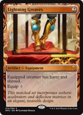稲妻のすね当て(Lightning Greaves)(Kaladesh Inventions)
