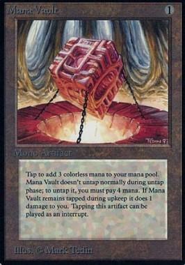 カラデシュ「Kaladesh Inventions」にて「魔力の櫃(Mana Vault)」が再録決定!