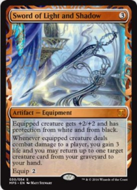 光と影の剣(Sword of Light and Shadow)(Kaladesh Inventions)