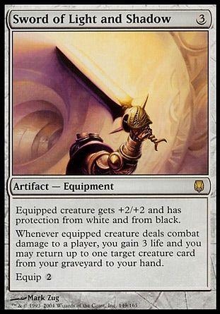 ダークスティール「光と影の剣(Sword of Light and Shadow)」がカラデシュの「Kaladesh Inventions」枠にて再録決定!