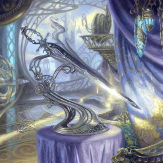 光と影の剣(Sword of Light and Shadow)(Kaladesh Inventions フルアート)