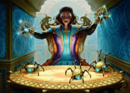 黒レアの工匠「マリオネットの達人(カラデシュ)」が公開!製造3&自軍アーティファクトが墓地に置かれるたび、このカードのパワーに等しいライフロスを対戦相手に!