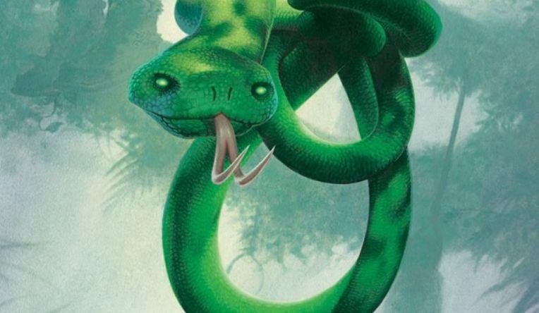2017年1月のFNMプロモ「首絞め(Noose Constrictor)」が公開!睨みつける蛇が印象的なイラスト!