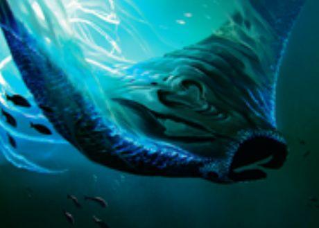 統率者2016収録の青レア魚「Deepglow Skate」が公開!CIPで好きな数のパーマネントが持つカウンターの数を2倍に!